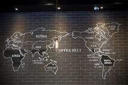 점토타일 : 다다벽돌의  벽 & 바닥