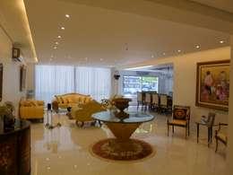 Living con Comedor integrado: Livings de estilo moderno por Estudio BASS Arquitectura