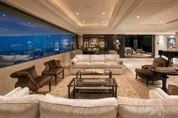 modern Living room by ARCO Arquitectura Contemporánea