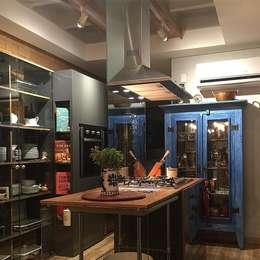 Cozinha Gourmet: Cozinhas ecléticas por Roberta Dassi Arquitetura