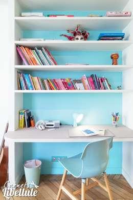 Projekty,  Pokój dziecięcy zaprojektowane przez Carnets Libellule