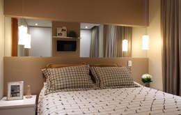 Dormitorios de estilo moderno por Studio 262 - arquitetura interiores paisagismo