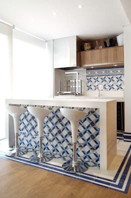 Cocinas de estilo moderno por Studio 262 - arquitetura interiores paisagismo