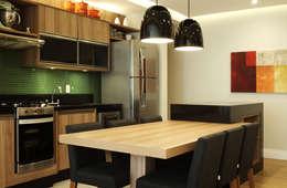 Comedores de estilo moderno por Studio 262 - arquitetura interiores paisagismo