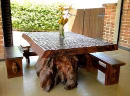 Comedor de estilo  por la tienda del mueble rustico