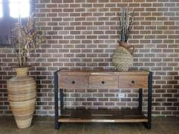 Salas de estilo rústico por la tienda del mueble rustico