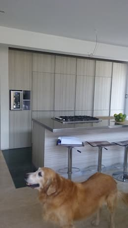 modern Kitchen by Spacio M+M