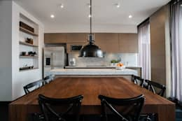 modern Dining room by SAU Arquitectos