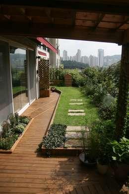 modern Garden by 푸르네