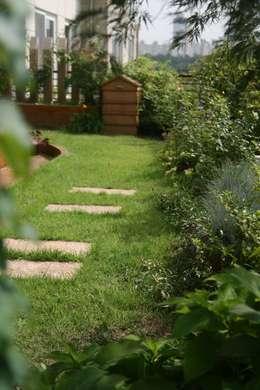 Сады в . Автор – 푸르네
