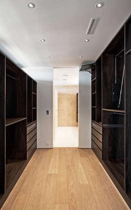 Projekty,  Garderoba zaprojektowane przez meier architekten