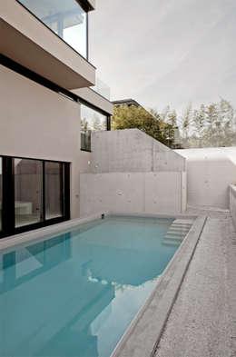 Projekty,  Basen zaprojektowane przez meier architekten