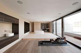 Projekty, nowoczesne Spa zaprojektowane przez meier architekten