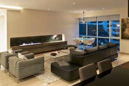 Armoni : Salas de estilo moderno por ARCO Arquitectura Contemporánea