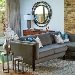 غرفة المعيشة تنفيذ Yohan May Design
