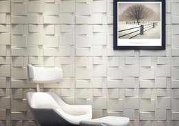 : Paredes de estilo  por Slendy Plata - Interior Desing