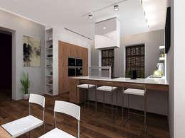 غرفة السفرة تنفيذ A-partmentdesign studio