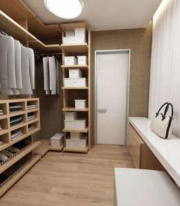 A-partmentdesign studio: minimal tarz tarz Giyinme Odası