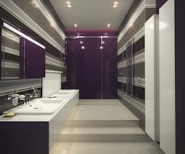 حمام تنفيذ A-partmentdesign studio