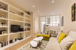 Projekty,  Salon zaprojektowane przez GESTION INTEGRAL DE PROYECTOS DEL NOROESTE S.L.
