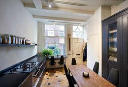 Bergstraat: eclectische Keuken door Architectenbureau Vroom