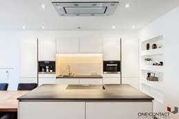 Cozinhas modernas por ONE!CONTACT - Planungsbüro GmbH