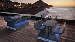 Projekty,  Balkon, weranda i taras zaprojektowane przez stayconcrete