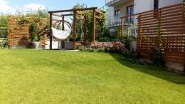 ogrod na tarasie: styl , w kategorii  zaprojektowany przez Ogrodowa Sceneria