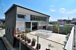 Terrazas de estilo  por 株式会社長野聖二建築設計處