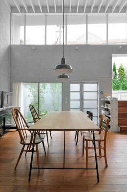 K-HOUSE: 株式会社長野聖二建築設計處が手掛けたダイニングです。