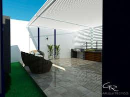 Tерраса в . Автор – GT-R Arquitectos