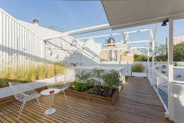 Terrazas de estilo  por Marantz Arquitectura