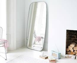 Inigo floor mirror: modern Bedroom by Loaf