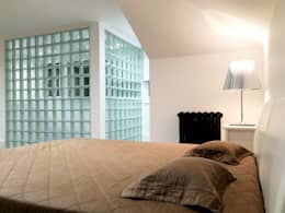 eclectic Bedroom by EVGENY BELYAEV DESIGN