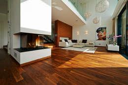 Projekty,  Salon zaprojektowane przez ZHAC / Zweering Helmus Architektur+Consulting
