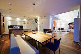 Projekty,  Jadalnia zaprojektowane przez ZHAC / Zweering Helmus Architektur+Consulting