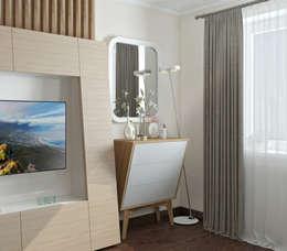 Спальня: Спальни в . Автор – Yurov Interiors