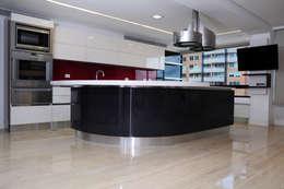PH 63C: Cocinas de estilo moderno por TRIBU ESTUDIO CREATIVO