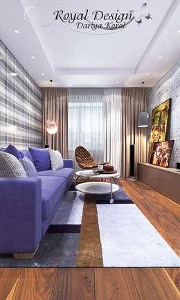 Salon de style de style Industriel par Your royal design