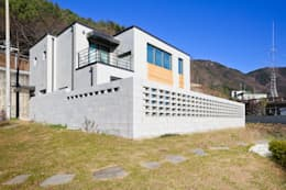 Casas de estilo moderno por 한글주택(주)
