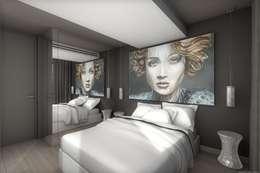 Décoration originale pour chambre contemporaine: Chambre de style de style eclectique par réHome