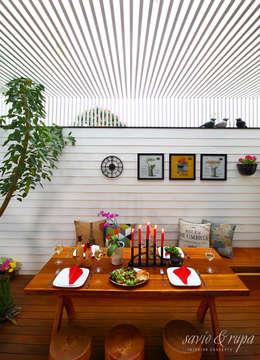 餐廳 by Savio and Rupa Interior Concepts