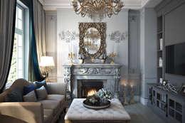 Salas de estilo clásico por Александра Клямурис