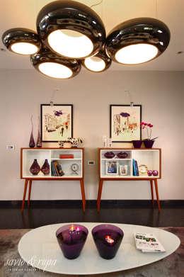 Storage consoles: scandinavian Living room by Savio and Rupa Interior Concepts