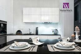 REALIZACJA WARSZAWA WAWER - DOM RODZINNY: styl , w kategorii Kuchnia zaprojektowany przez MEBLE WACH