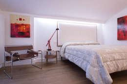 Projekty,  Sypialnia zaprojektowane przez ZETAE Studio