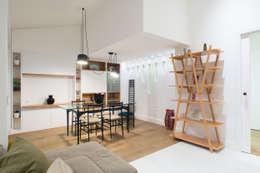 Projekty,  Jadalnia zaprojektowane przez ZETAE Studio