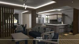 Cocinas de estilo moderno por Sergio Nisticò