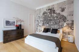 غرفة نوم تنفيذ CONSCIOUS DESIGN - INTERIORS