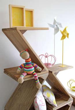 muebles modulares y flexibles trizz el nuevo de tres hermanos arquitectos dormitorios infantiles de estilo por notiarq